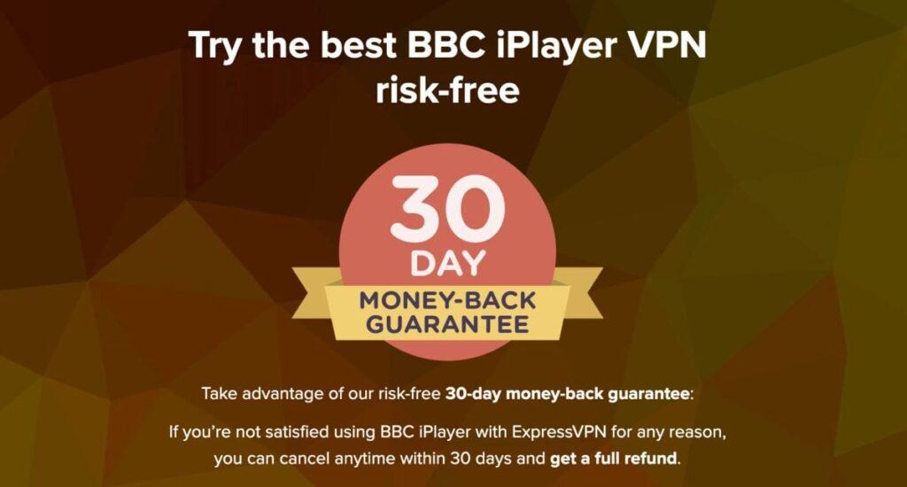 Essai gratuit de 30 jours sur vpn iplayer