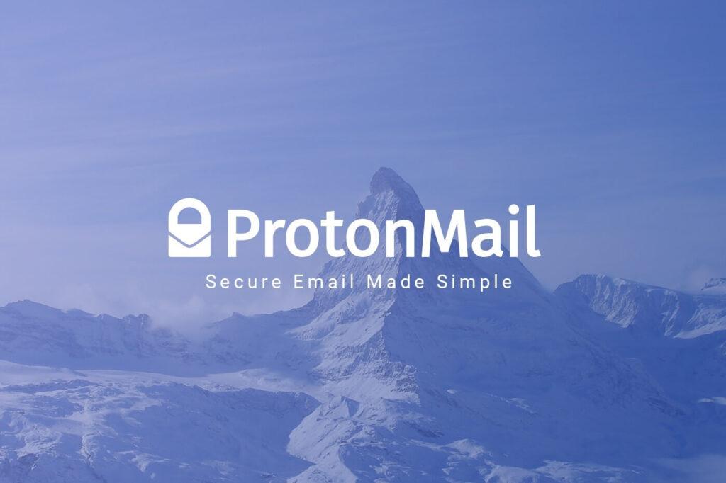 ProtonMail - meilleur fournisseur de messagerie sécurisé