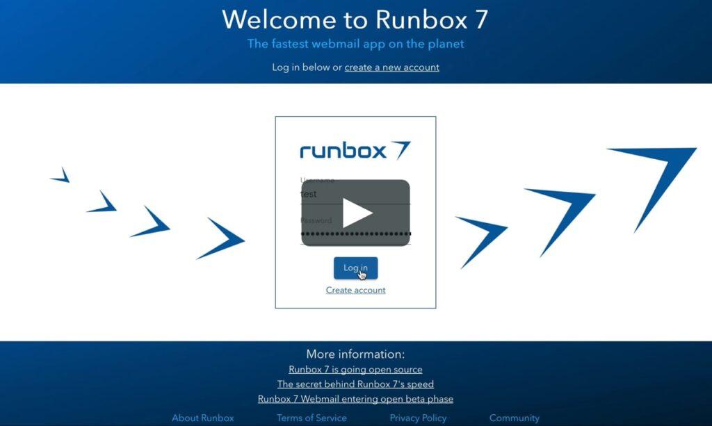 Runbox - un service de messagerie privé